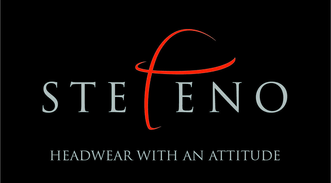 Logo Black Stefeno headwear with an attitude-1