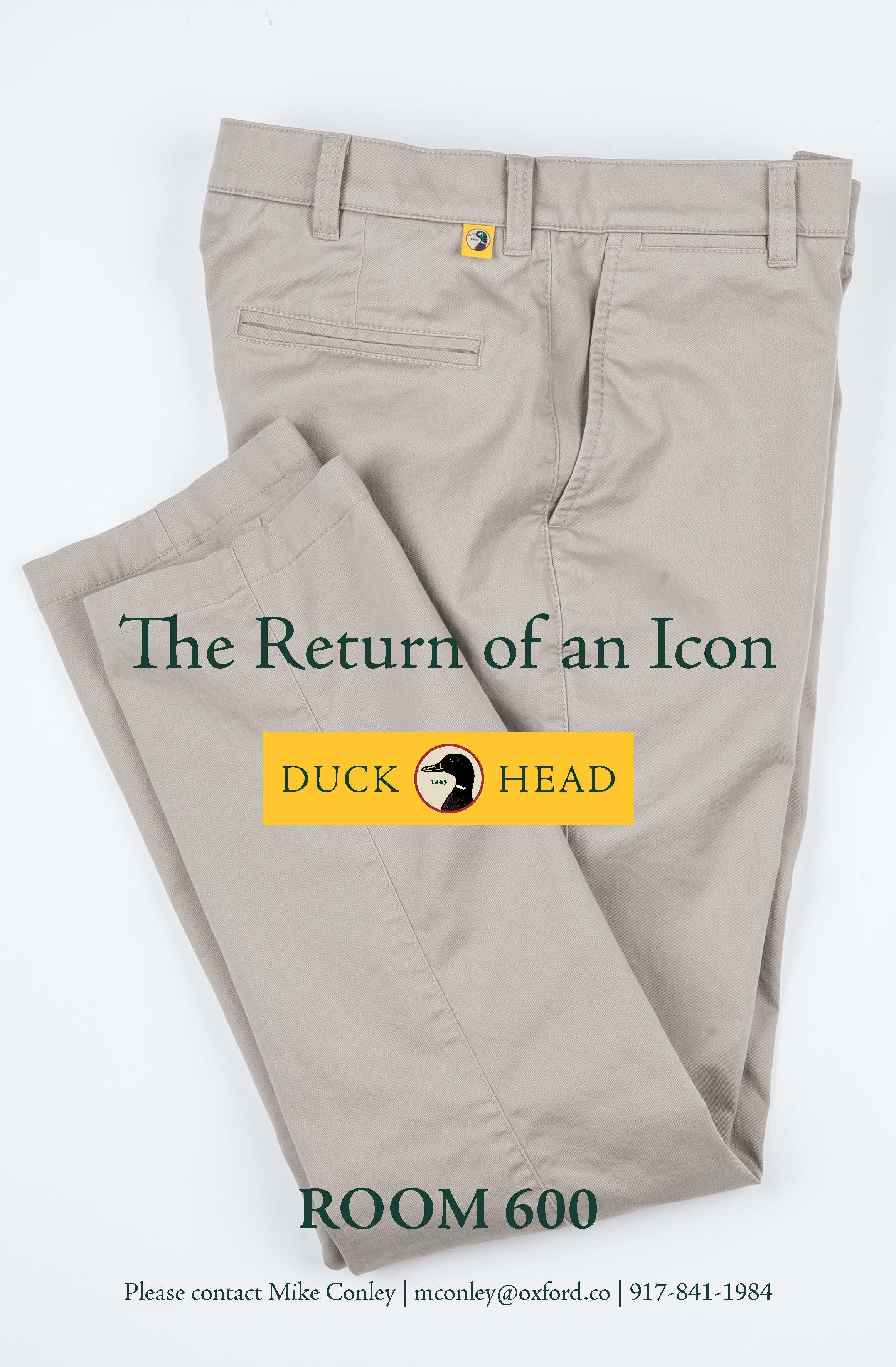 DUCK HEAD Print Directory Ad F19 - DH