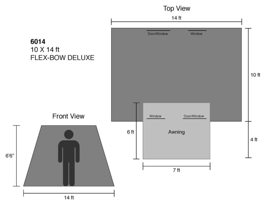 Canvas Tent Review: Kodiak Canvas 10 X 14 FT  Flex Bow