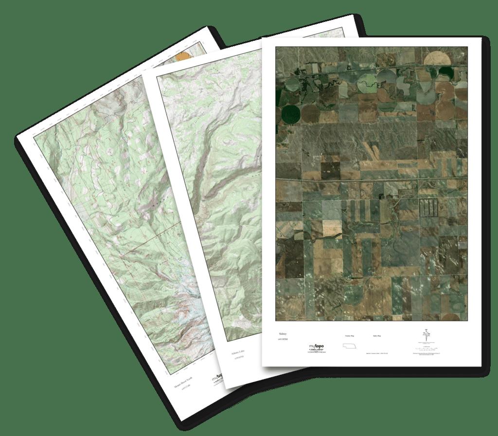 MyTopo Custom Aerial Maps