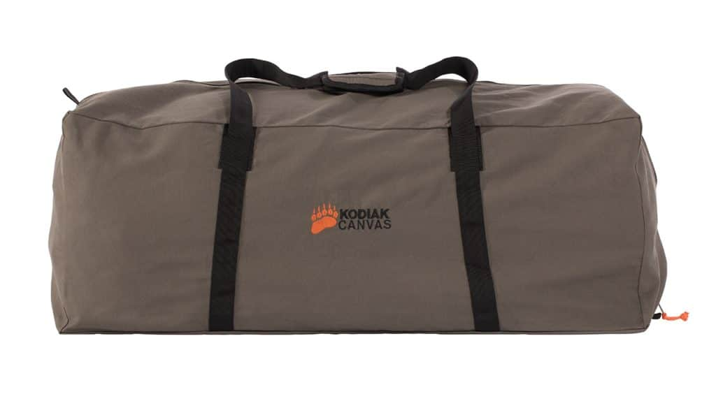 Carrying bag for the Kodiak canvas Z-Top Storage Bag