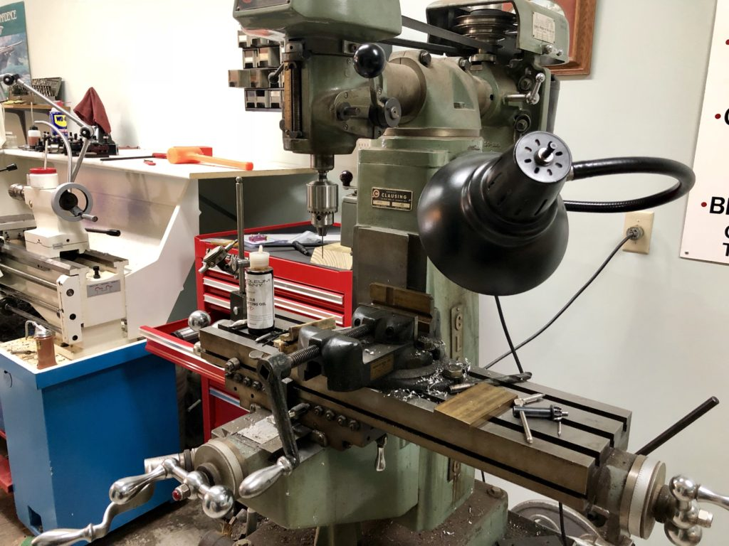 A precision machinist mill used for gunsmith work