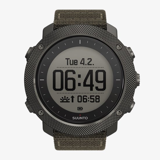 Suunto Traverse Alpha in watch mode