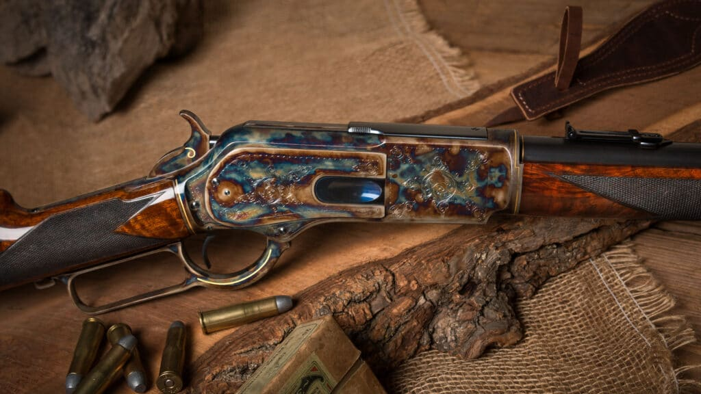 Winchester 1876 restored by Turnbull Restoration