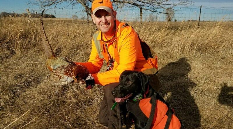 Matt Kucharski pheasant hunting