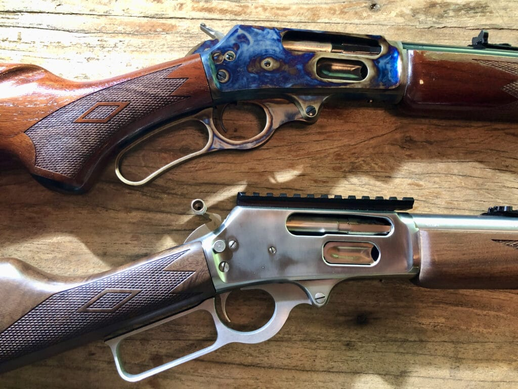Turnbull Marlin 1895 and a Marlin 1895GS