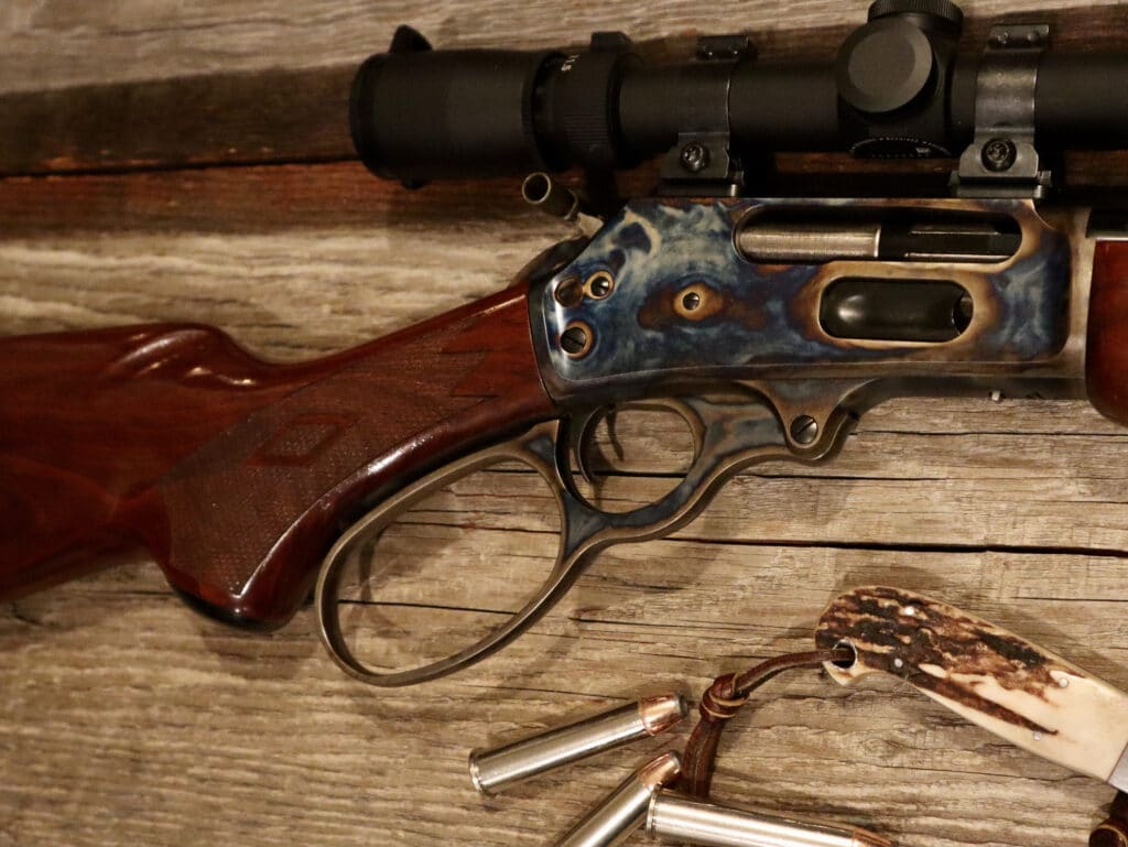 Turnbull Marlin 1895 with big loop lever