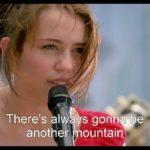The Climb by Miley Cyris