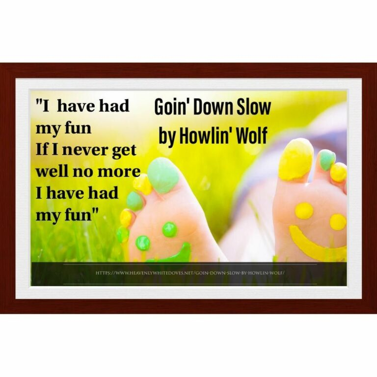 Goin' Down Slow by Howlin' Wolf