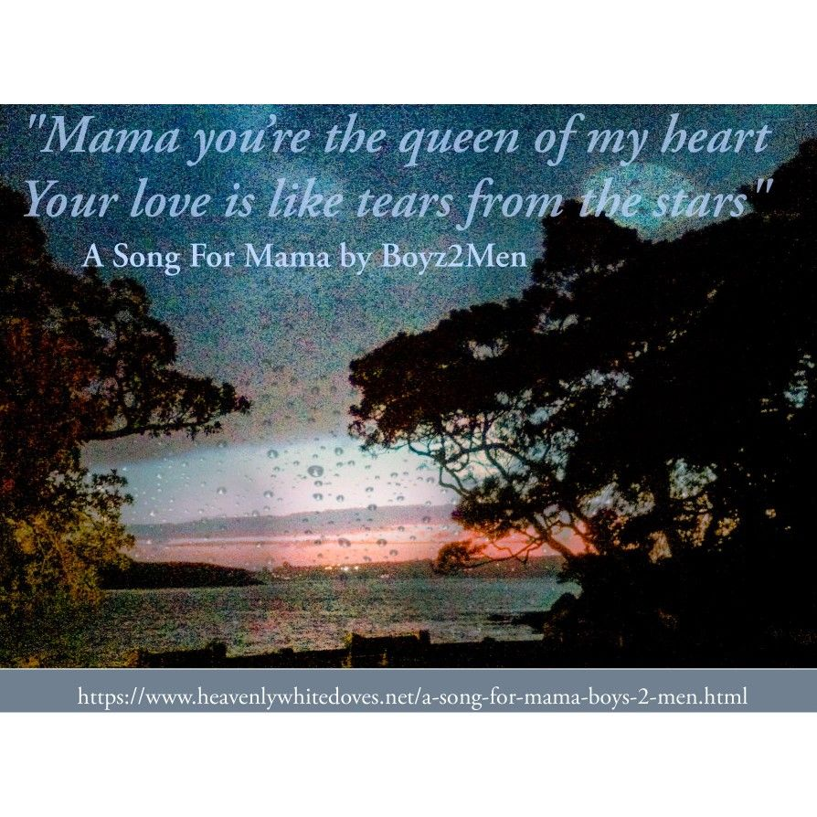 A Song For Mama by BoyzIIMen