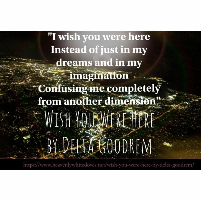 Wish You Were Here by Delta Goodrem