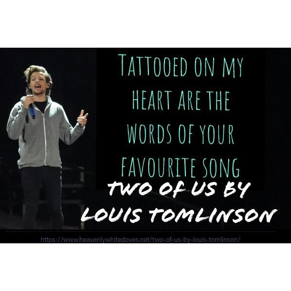 Two Of Us by Louis Tomlinson
