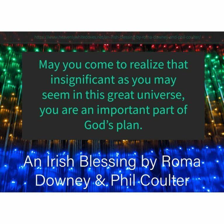 An Irish Blessing by Roma Downey and Phil Coulter
