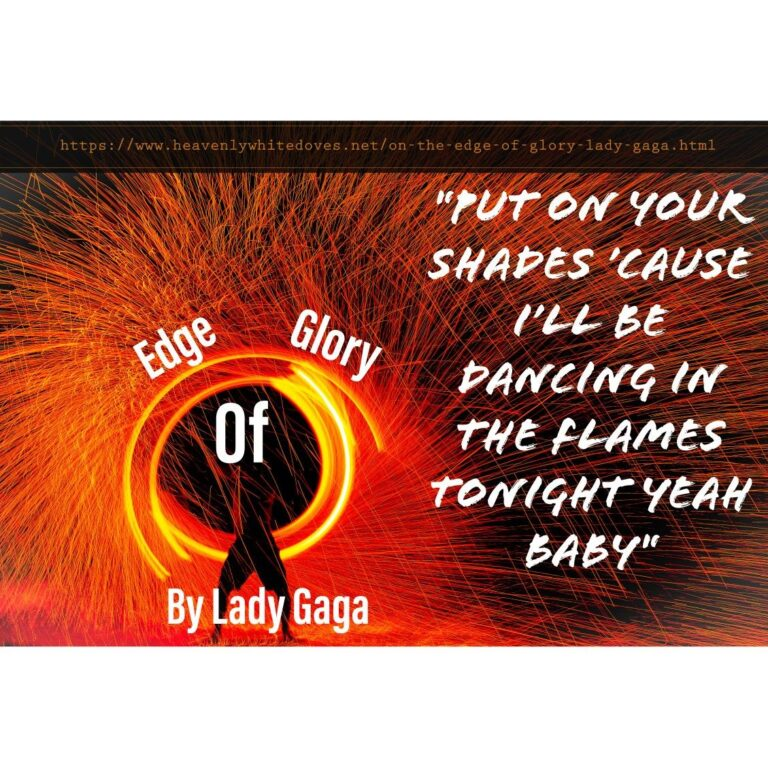 Edge of Glory by Lady Gaga