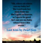 Last Kiss by Pearl Jam