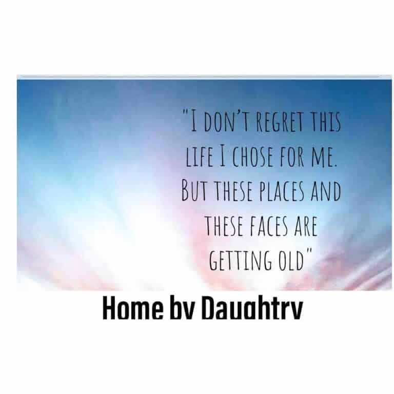Home by Daughtry