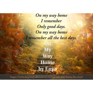 On My Way Home by Enya