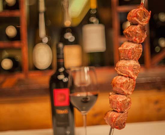 Bacon-Wrapped Steak