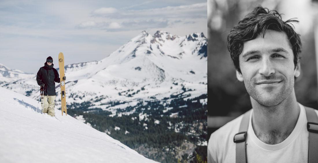 Eric Pollard. Artist, Skier, Designer, Father.