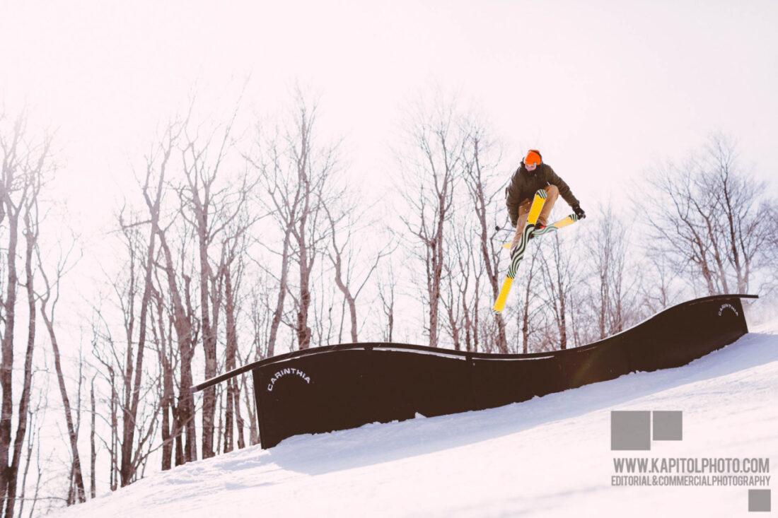 Ian Compton at Mount Snow