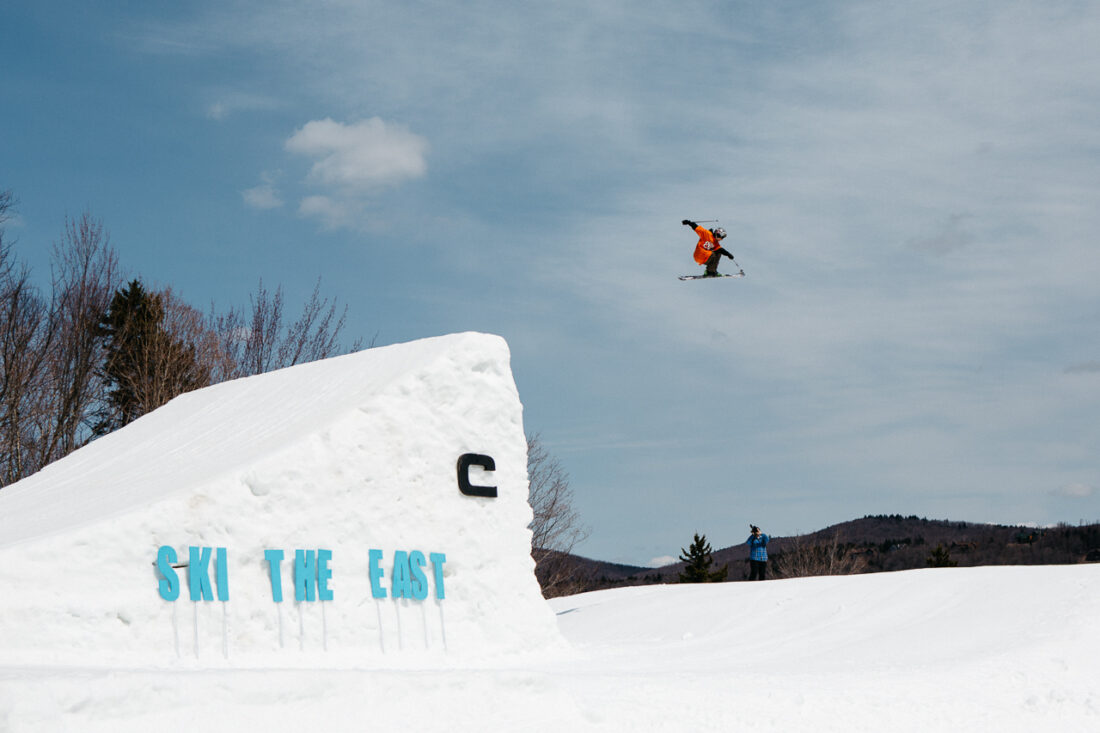 Luke Hagearty. Ski The East Super Park II @ Mount Snow Resort. West Dover, VT