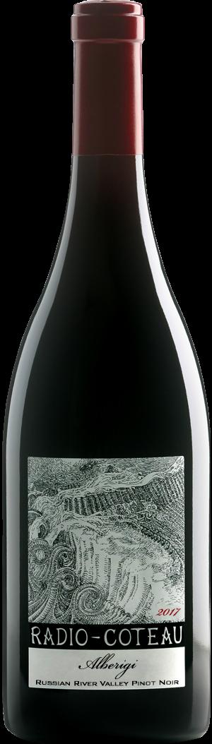 2017 Radio-Coteau Alberigi Pinot Noir Bottle