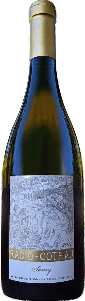 2018 Radio-Coteau Savoy Chardonnay Bottle