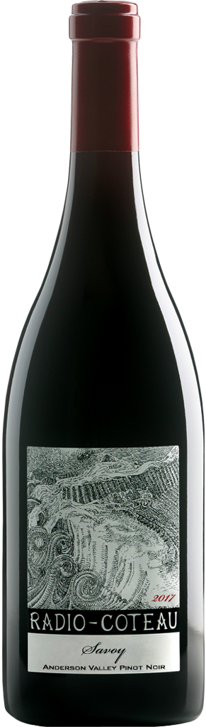 2017 Radio-Coteau Savoy Pinot Noir Bottle