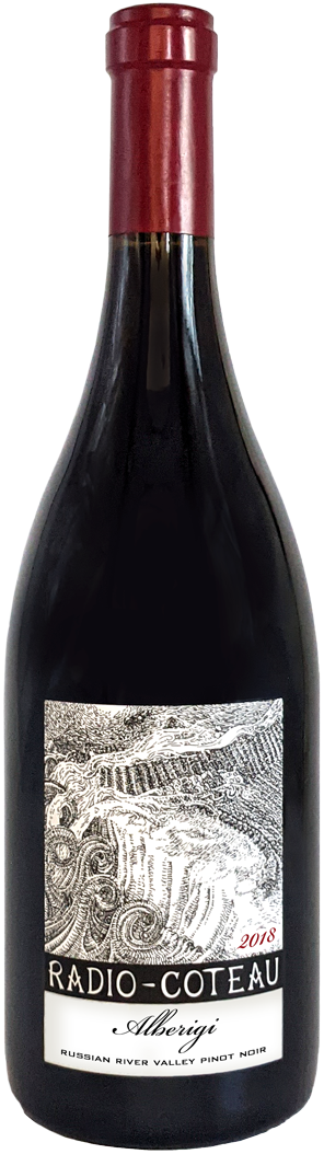 2018 Radio-Coteau Alberigi bottle