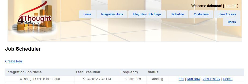 Integrating Oracle CRM with Eloqua 3