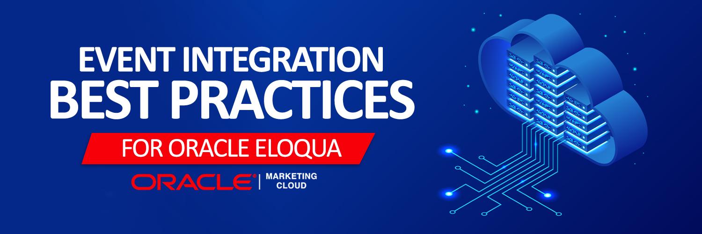 Event integration best practices