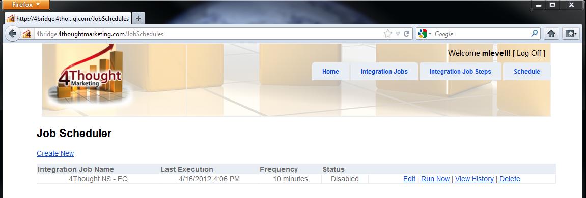 Eloqua Integration to NetSuite CRM 4