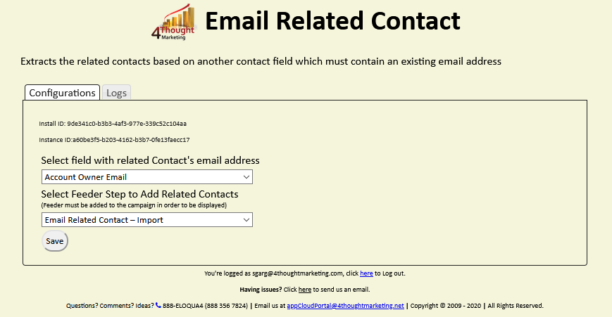 Email Related Contact Cloud App Documentation 7