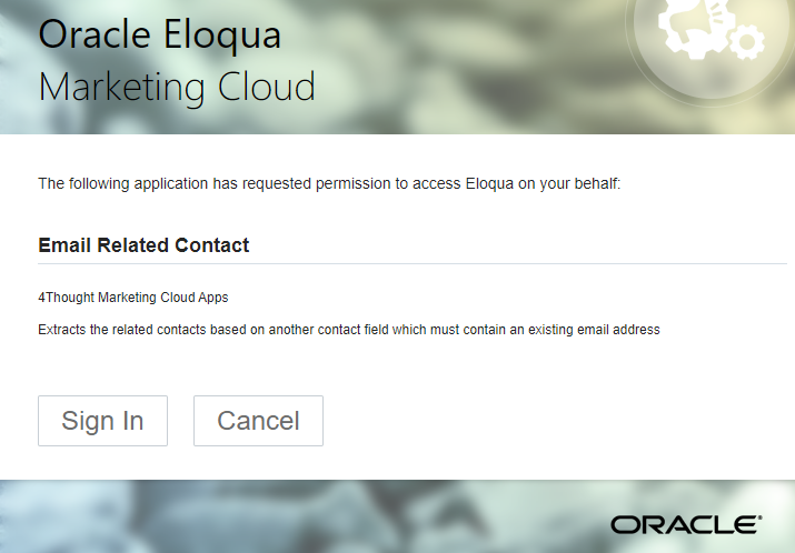 Email Related Contact Cloud App Documentation 1