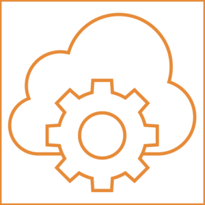 custom cloud app development icon