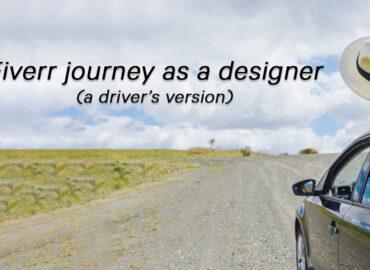 fiverr design journey