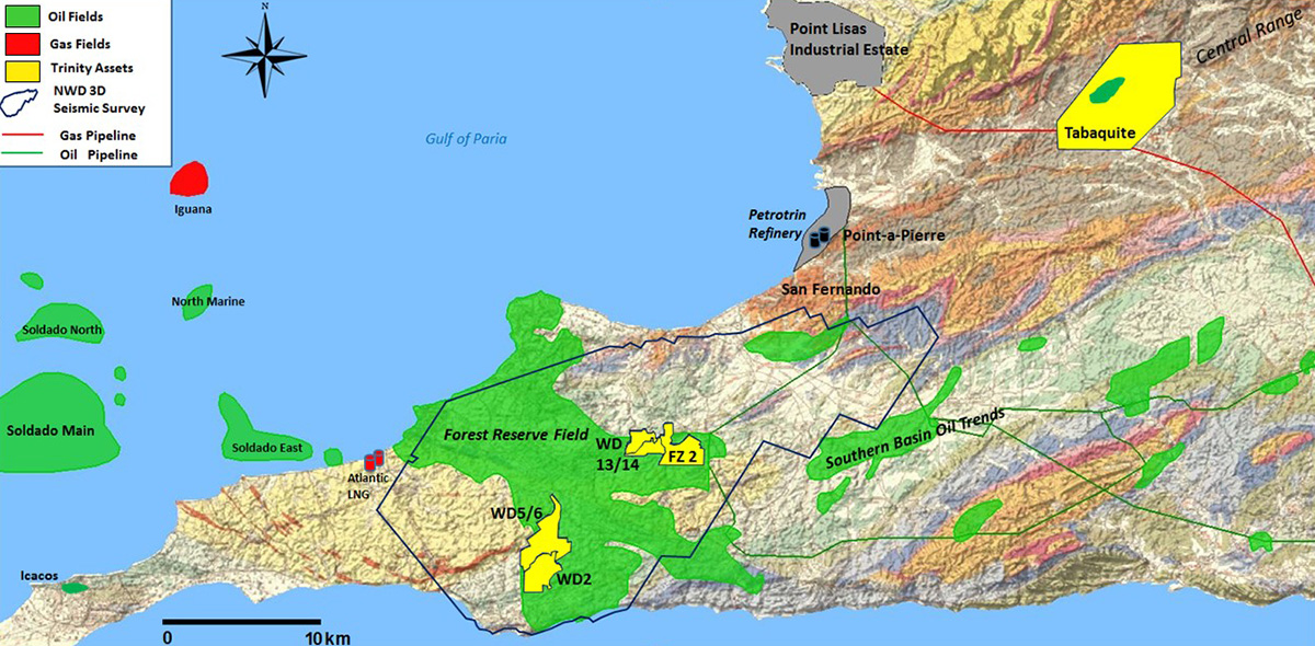 Onshore Map