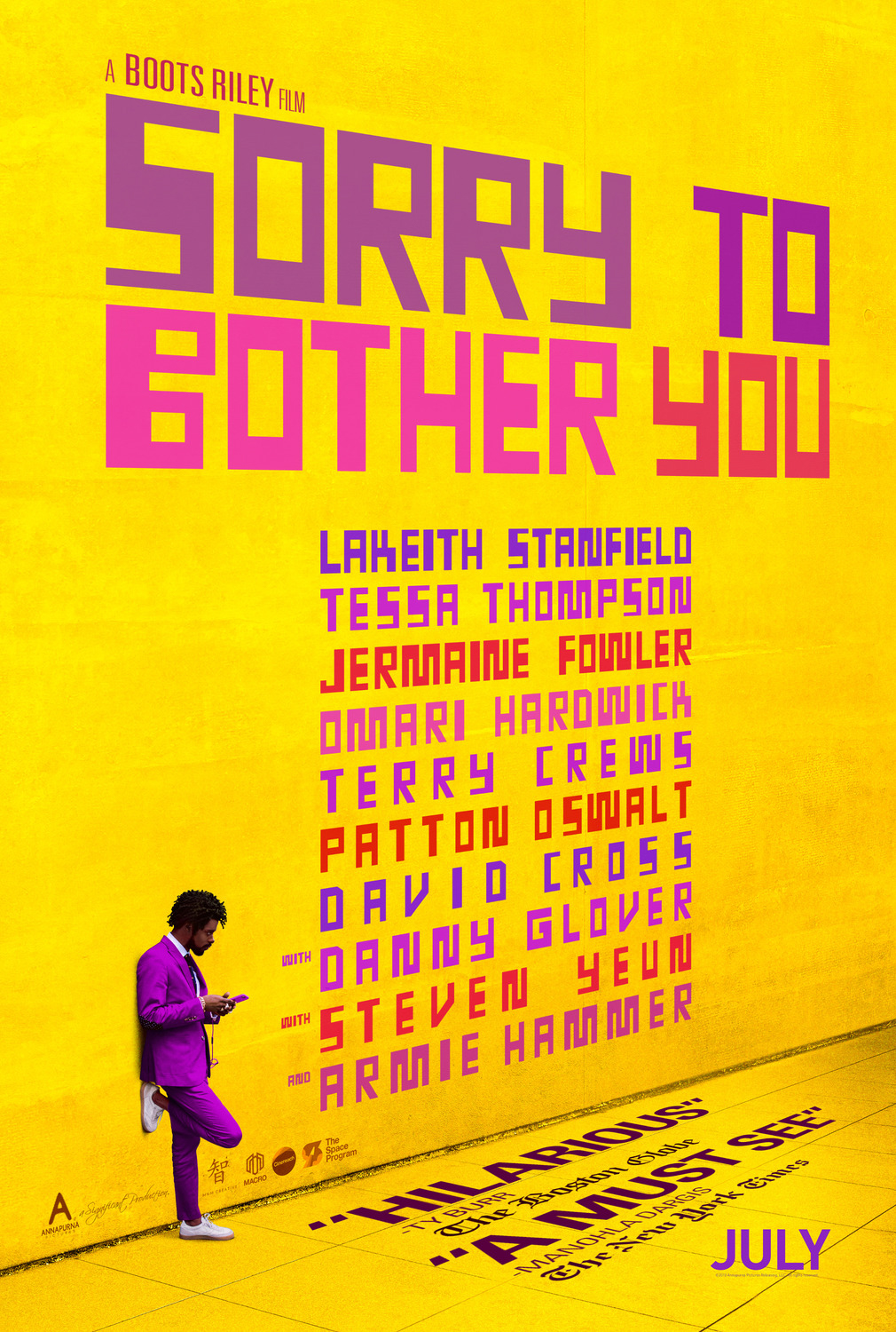 <p>Sorry To Bother You // Lakeith Stanfield</p>