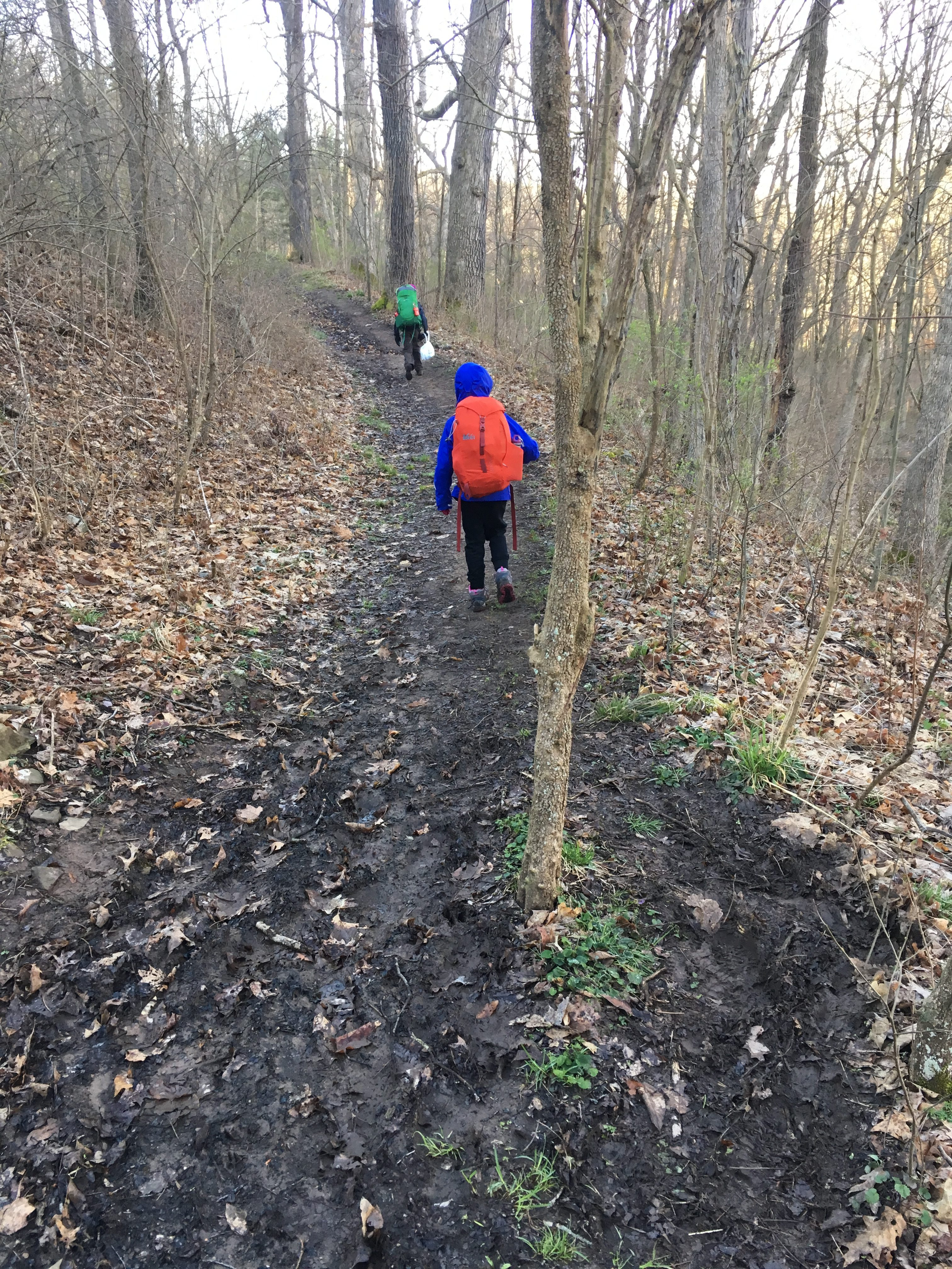 Backpacking at Raccoon Creek State Park in Pennsylvania