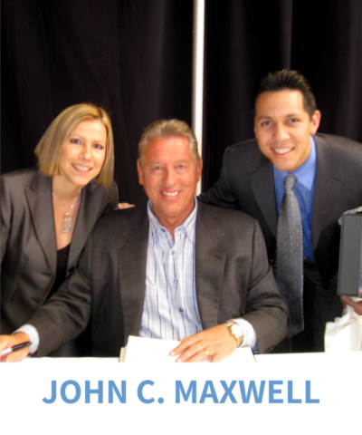 Dave & Yvette Ulloa with John C. Maxwell