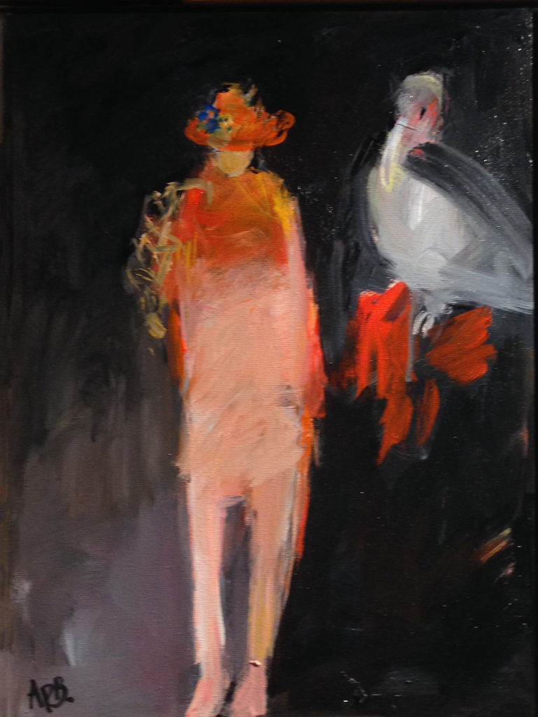 Pelican Woman