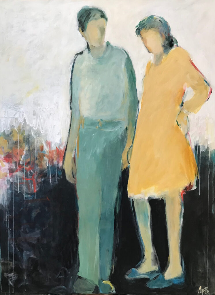 """One Step at a Time (40""""x30"""")"""
