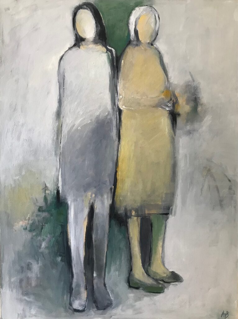 painting by Agnes entitled Relatives