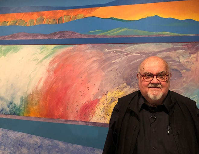Goshen artist talks of farm life, pursuit of color's 'thrill' in new Elkhart exhibit