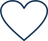 blue heart icon