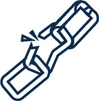 blue chain icon
