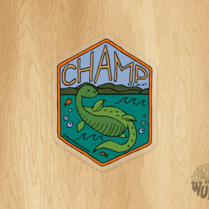 Champ Sticker