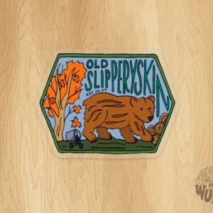 Old Slipperyskin Sticker