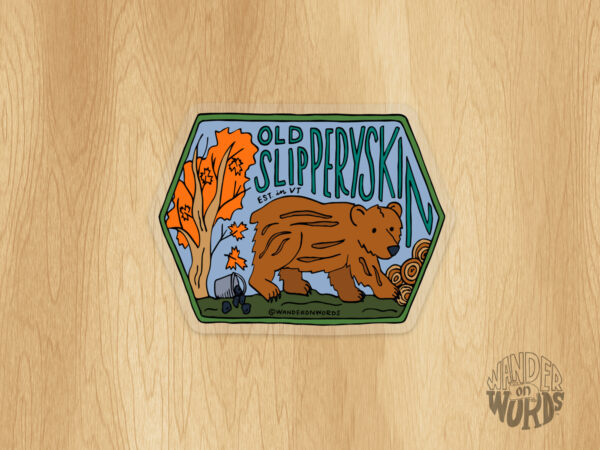 Old Slipperyskin Sticker