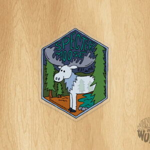 Specter Moose Sticker